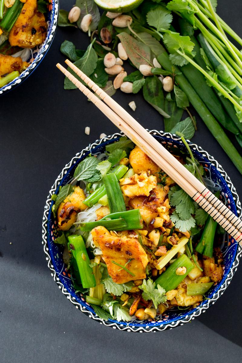 Chả Cá Thăng Long Vietnamese Turmeric Fish With Dill The Brick Kitchen